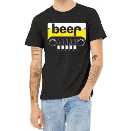 Jeep Beer 1 Heather T-shirt Designed By Kakashop
