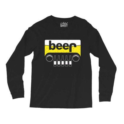 Jeep Beer 1 Long Sleeve Shirts Designed By Kakashop