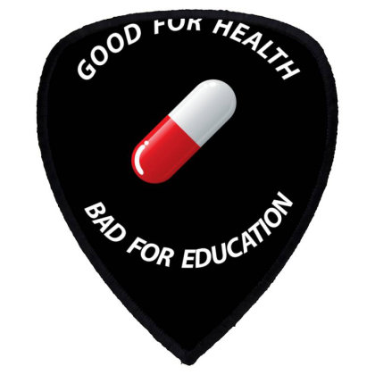 Good For Health Fitted Scoop Shield S Patch Designed By 90stings