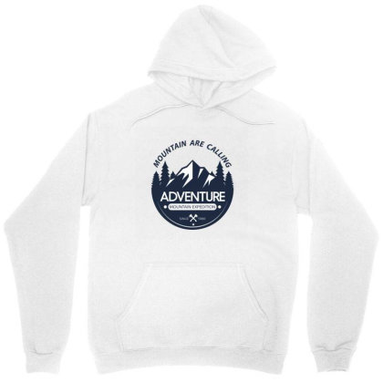 The Mountains Are Calling Unisex Hoodie Designed By 90stings