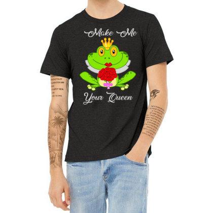 Frog Queen Heather T-shirt Designed By Kakashop