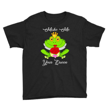Frog Queen Youth Tee Designed By Kakashop