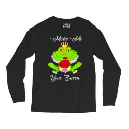 Frog Queen Long Sleeve Shirts Designed By Kakashop