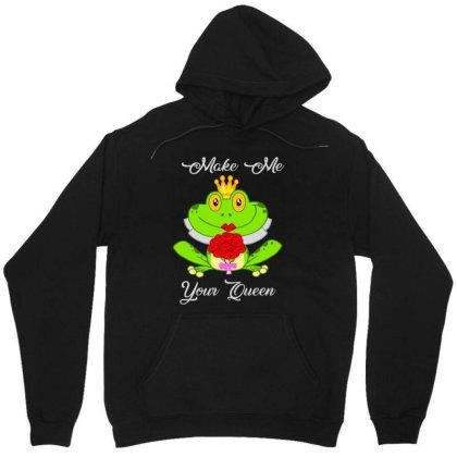 Frog Queen Unisex Hoodie Designed By Kakashop