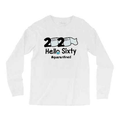 60th Hello Sixty Long Sleeve Shirts Designed By Cuser3146
