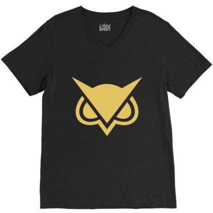 Vanoss Symbol Gold V-neck Tee Designed By Kakashop