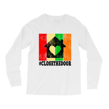 Closethedoor Long Sleeve Shirts Designed By Littlepoppy