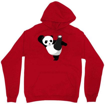 Karate Panda Unisex Hoodie Designed By Ramateeshirt