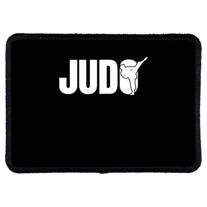 Judo Fighter Rectangle Patch Designed By Ramateeshirt