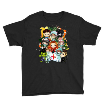 New York Superheroes Baby Bodysuit Youth Tee Designed By Tiococacola