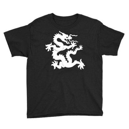 Kung Fu Dragon Youth Tee Designed By Ramateeshirt