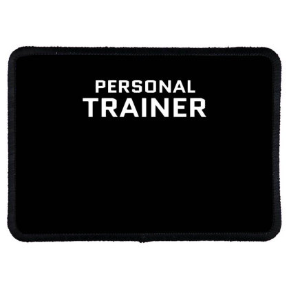 Personal Trainer Rectangle Patch Designed By Ramateeshirt