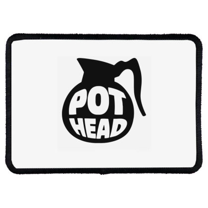 Pot Head Rectangle Patch Designed By Ramateeshirt