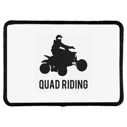 Quad Riding Rectangle Patch Designed By Ramateeshirt