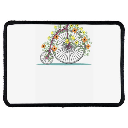 Bicycle Rr Rectangle Patch Designed By Anis4