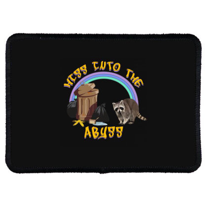 Hiss Into The Abyss Rectangle Patch Designed By Gurkan