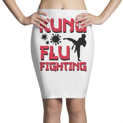 Kung Flu Fighting Pencil Skirts Designed By Honeysuckle