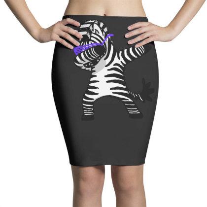Dabbing Zebra Shirt Dab Hip Hop Funny Magic Pencil Skirts Designed By Vomaria