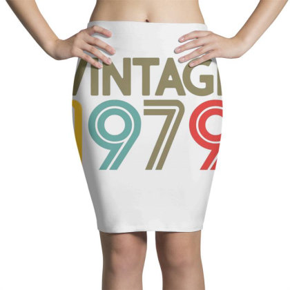 40th Birthday Vintage 1979 Pencil Skirts Designed By Jimmy