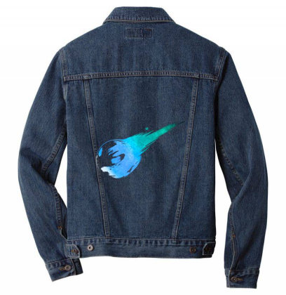 Final Fantasy Vii Men Denim Jacket Designed By Katsu