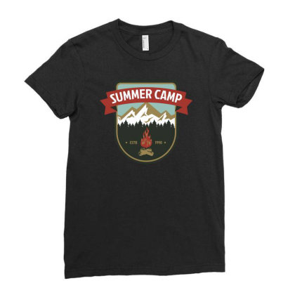 Camper Vi Ladies Fitted T-shirt Designed By Anis4