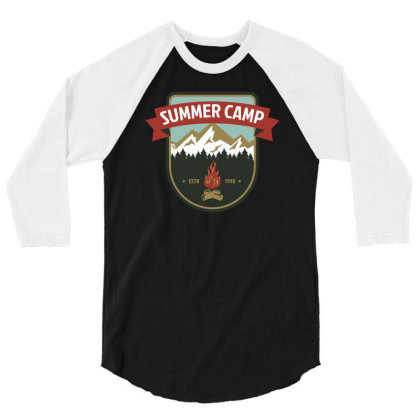 Camper Vi 3/4 Sleeve Shirt Designed By Anis4