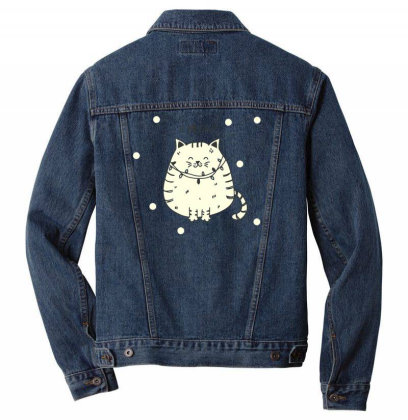 Cats Lights Men Denim Jacket Designed By Anis4
