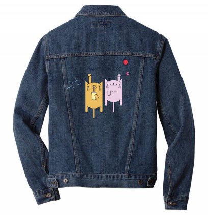 Cats Sport Men Denim Jacket Designed By Anis4