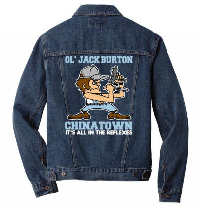 Chinatown Fighting Men Denim Jacket Designed By Anis4