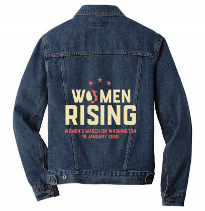 Women Rising 2020 Men Denim Jacket Designed By Cuser2397
