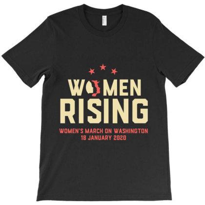 Women Rising 2020 T-shirt Designed By Cuser2397