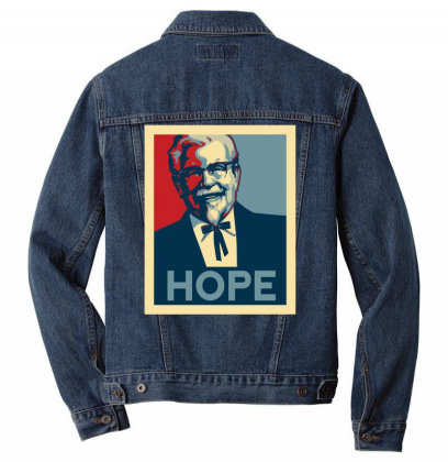 Colonel For President Men Denim Jacket Designed By Anis4