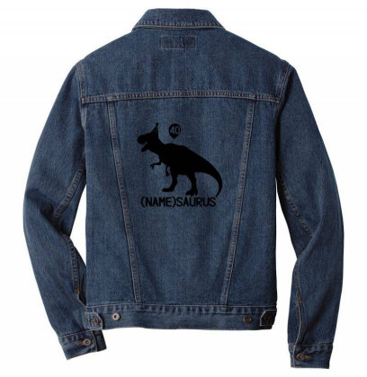 40th Birthday Men Denim Jacket Designed By Jimmy
