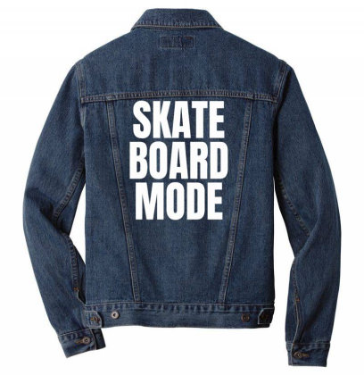 Skateboard Mode Men Denim Jacket Designed By Ramateeshirt