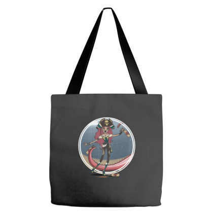 The Piratess - Fc Tote Bags Designed By Pinkyotter Art