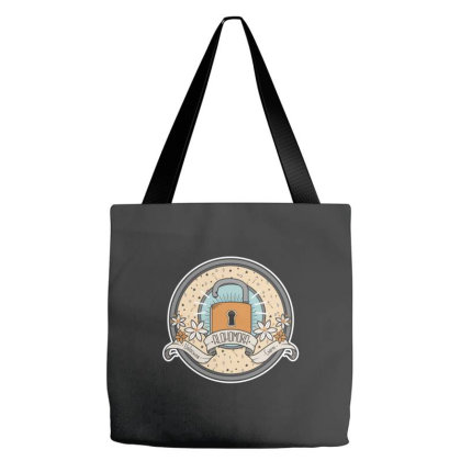 Alohomora Tote Bags Designed By Pinkyotter Art