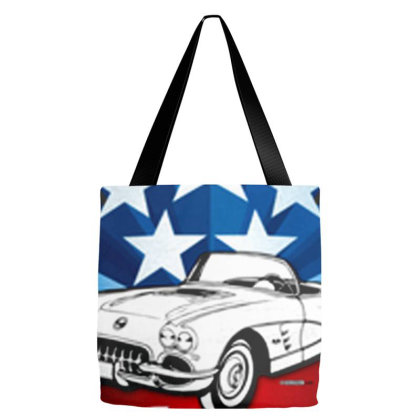American Classic Corvette Tote Bags Designed By Talans