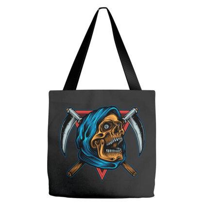 Reaper Skull Tote Bags Designed By Stayhoom