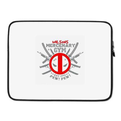 Mercenary Gym Laptop Sleeve Designed By Talans