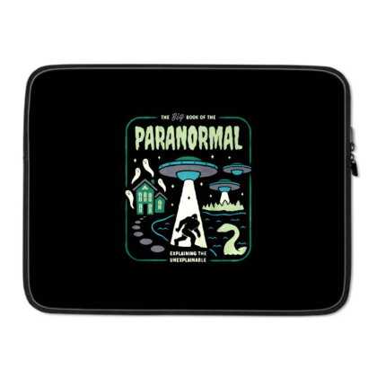 Paranormal Laptop Sleeve Designed By Talans