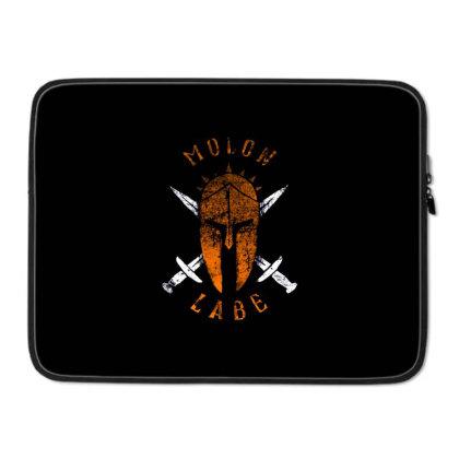 Molon Labe Laptop Sleeve Designed By Talans
