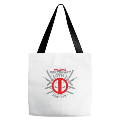 Mercenary Gym Tote Bags Designed By Talans