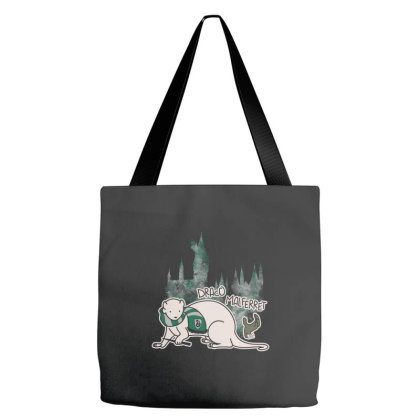 Draco Malferret Tote Bags Designed By Pinkyotter Art