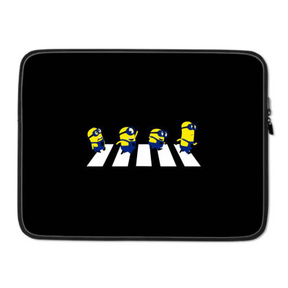 Abbey Road Laptop Sleeve Designed By Talans
