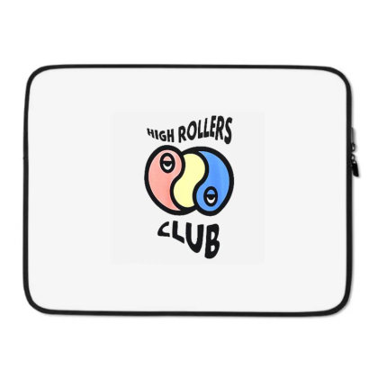 A Lab High Rollers Club Laptop Sleeve Designed By Talans