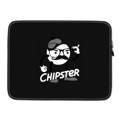 Chipster - Vintage Laptop Sleeve Designed By Pinkyotter Art