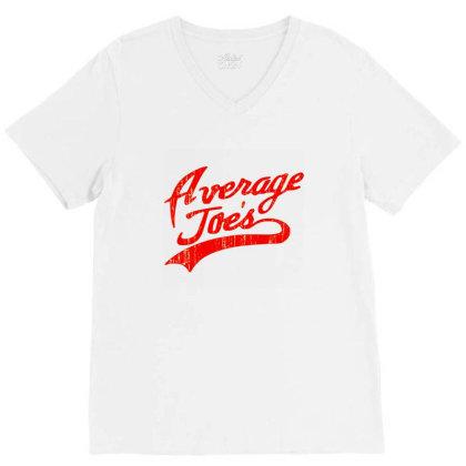 Average Joes Dodgeball V-neck Tee Designed By Talans