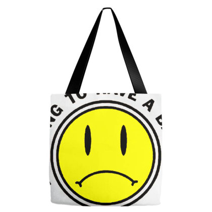 Bad Day Tote Bags Designed By Talans