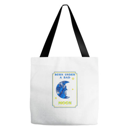 Bad Moon Tote Bags Designed By Talans