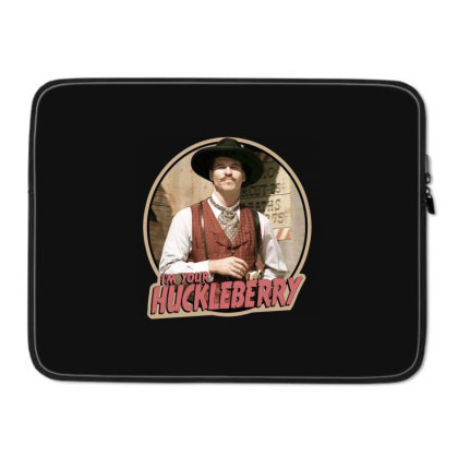 1990's Classic Western 'iam Your Huckleberry' Laptop Sleeve Designed By Connie